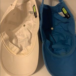 Nike Accessories - Women's Nike Hats Blue and White Good Condition